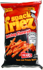 Herr's Snack Friez Ketchup Flavored