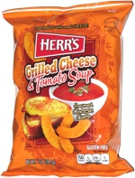 Herr's Grilled Cheese & Tomato Soup Cheese Curls