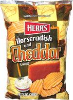 Herr's Horseradish and Cheddar Potato Chips