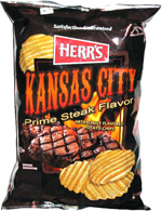 Herr's Kansas City Prime Steak Flavor Potato Chips