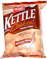 Herr's Kettle Cooked Buffalo Wing Potato Chips