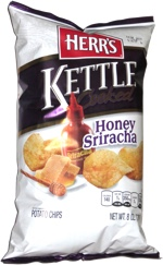Herr's Kettle Cooked Honey Sriracha Potato Chips