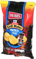 Herr's McCormick Grill Mates Montreal Steak Potato Chips