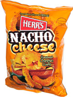 Herr's Nacho Cheese Flavored Cheese Curls