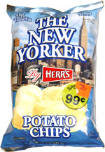 The New Yorker By Herr's Potato Chips