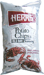 Herr's Potato Chips with Old Bay Seasoning