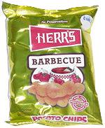 Herr's Barbecue Potato Chips