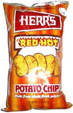 Herr's Red Hot Potato Chips
