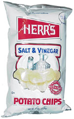 Herr's Salt & Vinegar Potato Chips