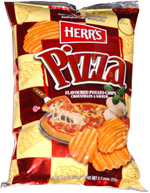 Herr's Pizza Flavoured Potato Chips