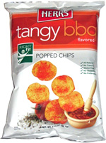 Herr's Tangy BBQ Popped Chips
