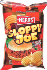 Herr's Sloppy Joe Flavored Potato Chips