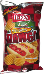 Herr's Stadium Dawg! Potato Chips