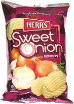 Herr's Sweet Onion Potato Chips