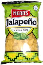 Herr's Jalapeno Tortilla Chips
