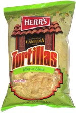 Herr's Authentic Cantina Style Tortillas Hint of Lime