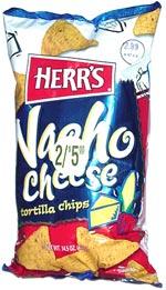 Herr's Nacho Cheese Tortilla Chips