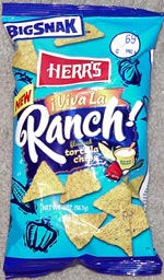 Herr's Viva La Ranch! Tortilla Chips