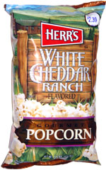 Herr's White Cheddar Ranch Gourmet Popcorn