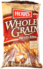 Herr's Whole Grain Pretzel Sticks