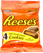Reese's Milk Chocolate Dipped Cookies