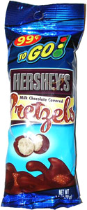 Hershey's Milk Chocolate Covered Pretzels To Go!