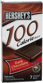 Hershey's 100 Calorie Bars Dark Chocolate