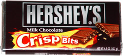 Hershey's Milk Chocolate with Crisp Corn Bits