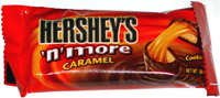 Hershey's 'n' More Caramel Cookie Bar
