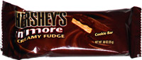 Hershey's 'n' More Creamy Fudge Cookie Bar