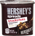 Hershey's Spreads Snacksters