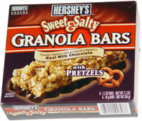 Hershey's Sweet & Salty Granola Bars with Pretzels