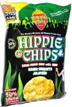 Hippie Chips Baked Potato Chips with Hemp Haight-Ashberry Jalapeno