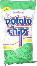 Holiday Cream & Onion Potato Chips