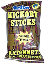 Hostess Hickory Sticks Smoked Flavour