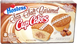 Hostess Sea Salt Caramel Cup Cakes