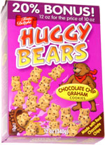 Huggy Bears Chocolate Chip Graham Cookies