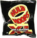 Hula Hoops XL Beef & Mustard Flavour Potato Rings