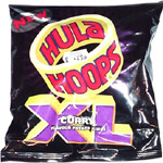 Hula Hoops XL Curry Flavor Potato Rings