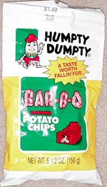 Humpty Dumpty Bar-B-Q Potato Chips