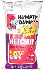 Humpty Dumpty Ketchup Artificially Flavored Ripple Chips