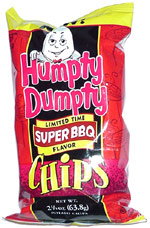 Humpty Dumpty Super BBQ Chips