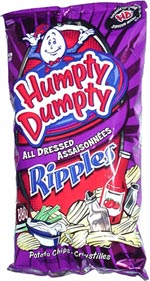 Humpty Dumpty All Dressed Ripples Potato Chips
