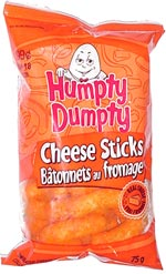 Humpty Dumpty Cheese Sticks (Bâtonnets au Fromage)
