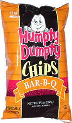 Humpty Dumpty Bar-B-Q Chips
