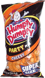 Humpty Dumpty Cheesy Party Mix