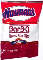 Husman's BarB-Q Potato Chips