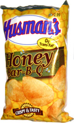 Husman's Honey Bar-B-Q Potato Chips