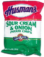 Husman's Sour Cream & Onion Potato Chips
