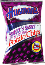Husman's Sweet 'n Sassy BBQ Flavored Potato Chips